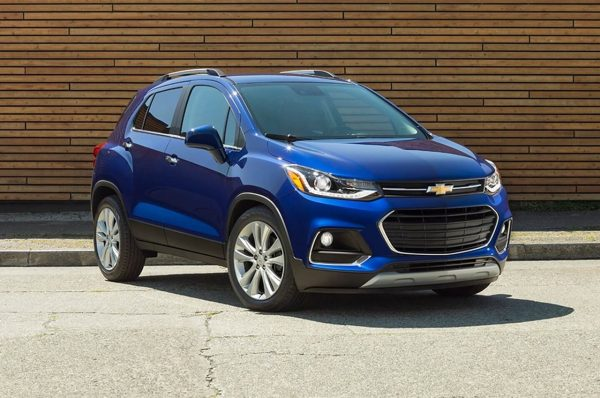 2020 Chevy Trax Colors Option