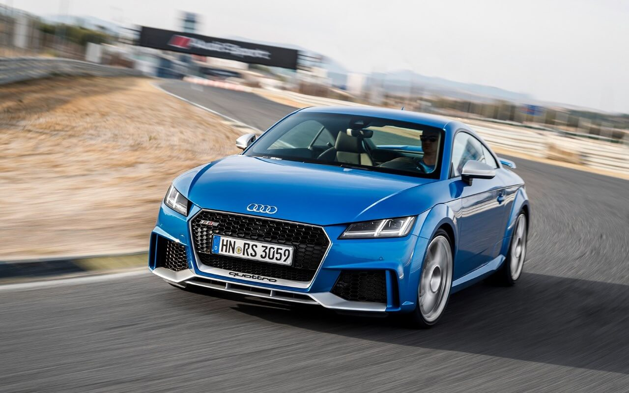2020 Audi TT RS accessories list