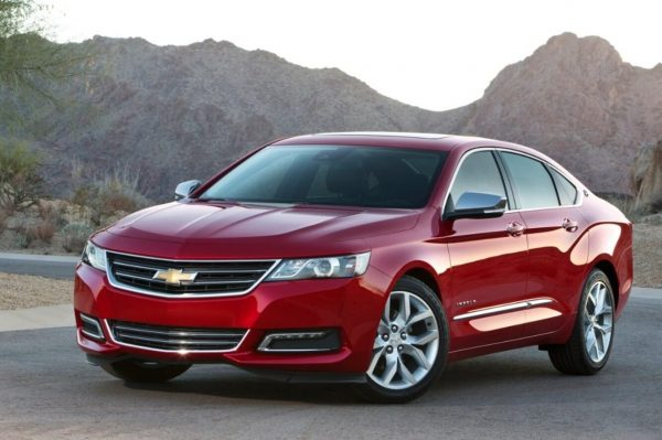 2020 Chevy Impala has improved the design