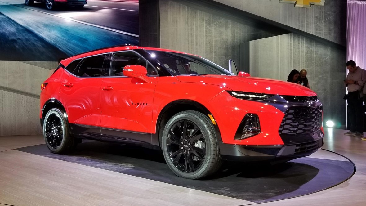 2020 Chevy Trailblazer RS features, trim levels, and available options