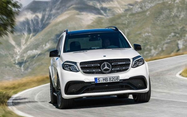 2020 Mercedes GLS 550 Preview