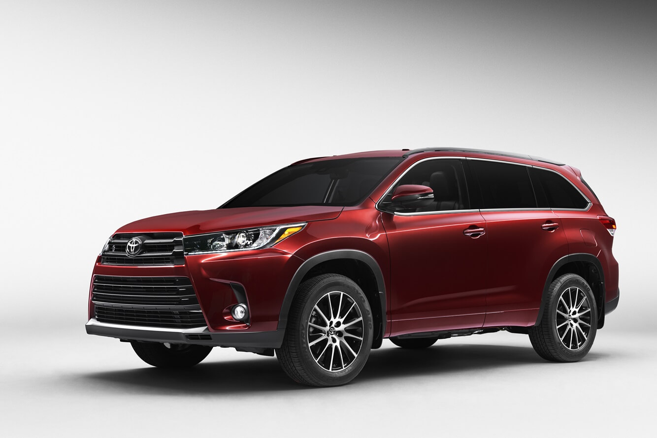 2020 Toyota Highlander Gets Different Styling