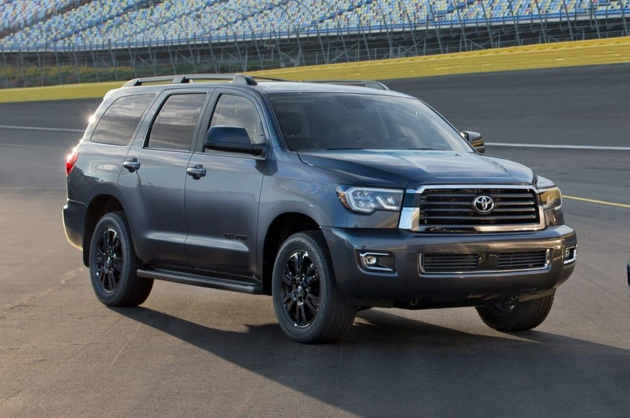 2020 Toyota Sequoia Facelift Unveiled