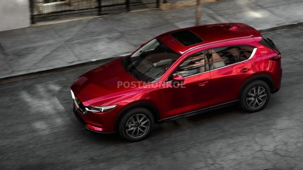 2020 Mazda CX 7 Based on the Latest KODO Design
