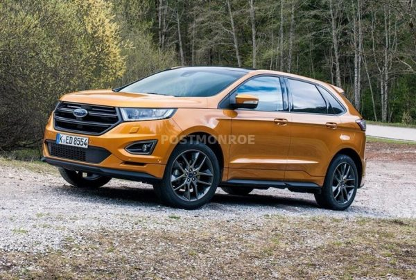 2021 Ford Edge Interior Colors and Dimensions