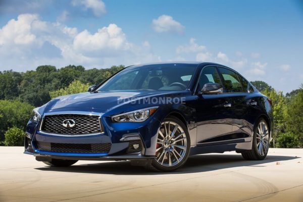 2021 Infiniti Q50 Spotted With Exterior Changes