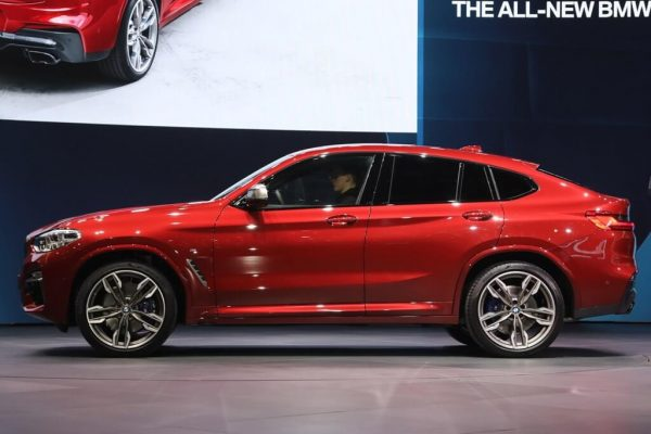 2021 BMW X4 Facelift Unveiled