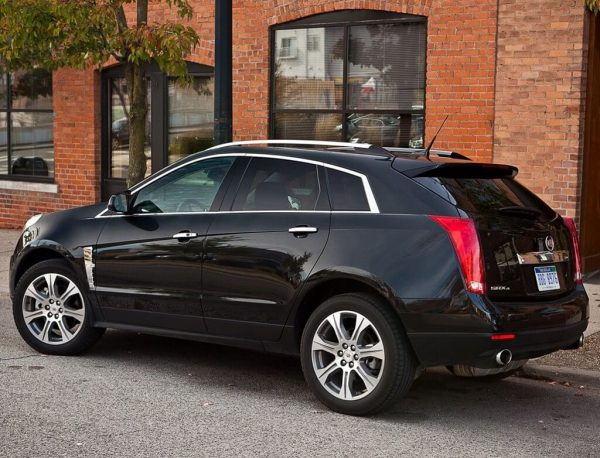 2021 Cadillac SRX more safety features