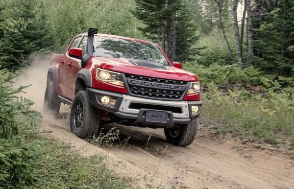 2021 Chevy Colorado gets minor changes up against Ranger