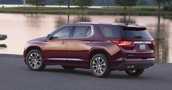 2021 Chevy Traverse more safety features