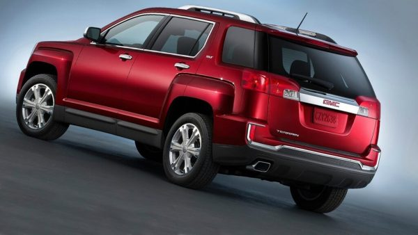 2021 GMC Terrain available active safety, bigger price