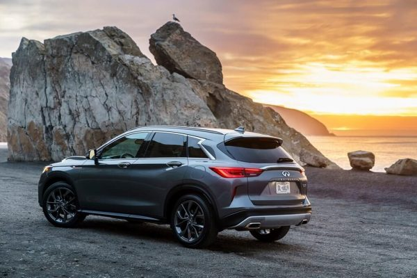 2021 Infiniti QX50 available active safety, bigger price