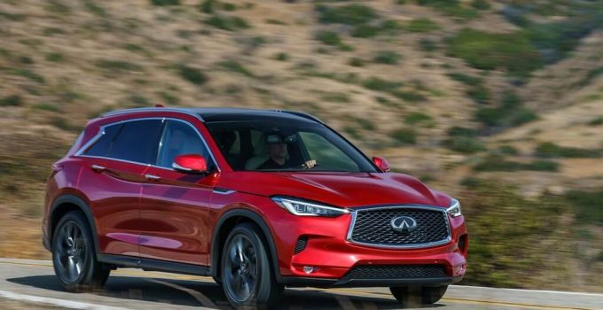2021 Infiniti QX50 more safety features