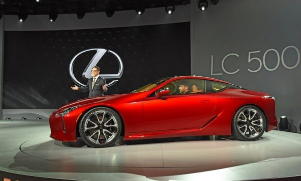 2021 Lexus LC 500 is back with a new face