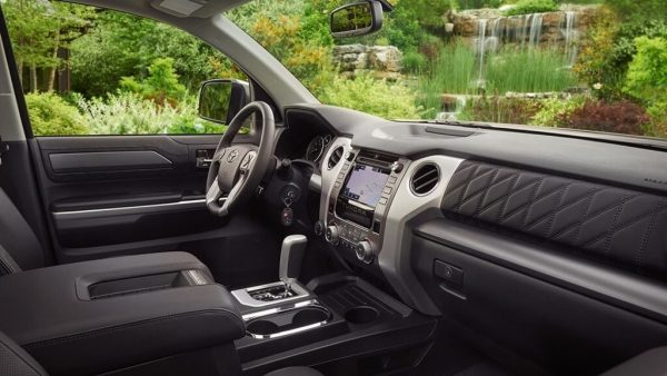 2021 Toyota Tundra Interior Colors and Dimensions