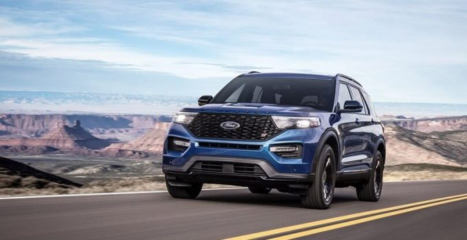 2021 Ford Explorer ST Sport New Appearance