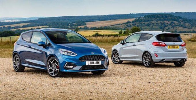2021 Ford Fiesta ST & RS Facelift