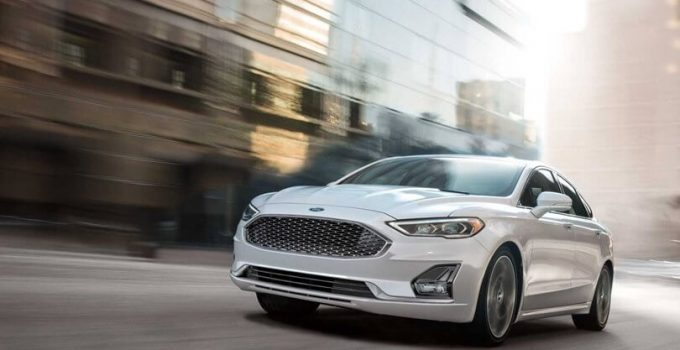 2021 Ford Fusion Sport Hybrid Redesign