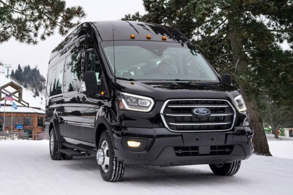 2021 Ford Transit Crew Van Connect Redesign