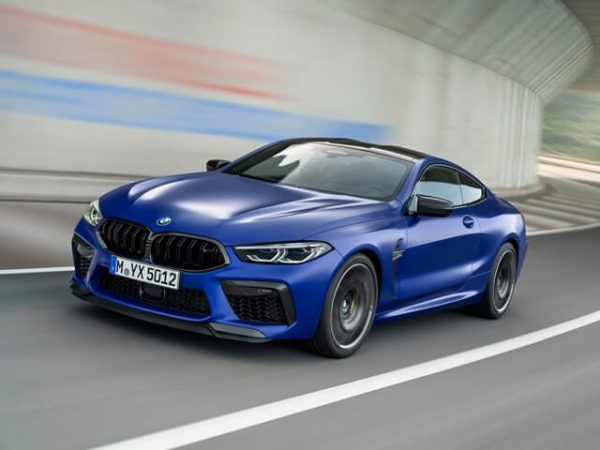 2021 BMW M8 Gran Coupe Rendered