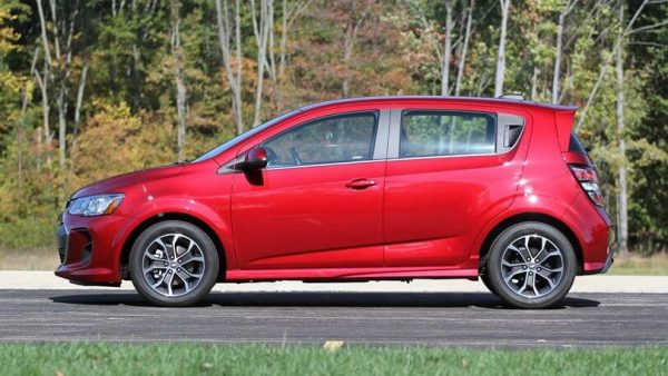 2021 Chevy Sonic Hatchback RS