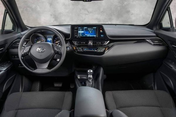 2021 Toyota CHR Interior Colors & Dimensions