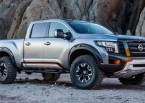 2022 Nissan Titan Warrior Spy Shots