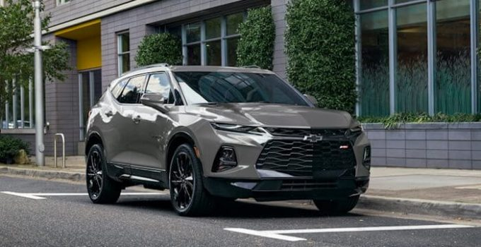 2022 Chevy Blazer RS Colors