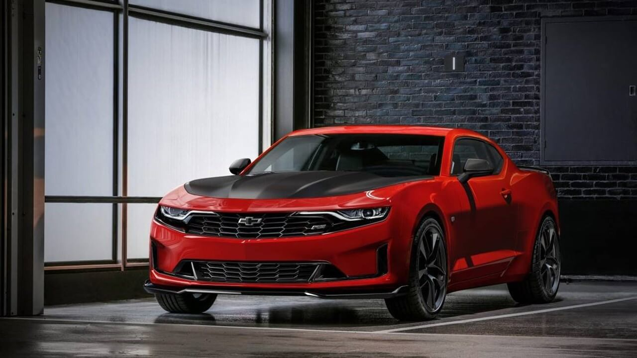 2020 Chevy Camaro Standard features, trim levels, and available options