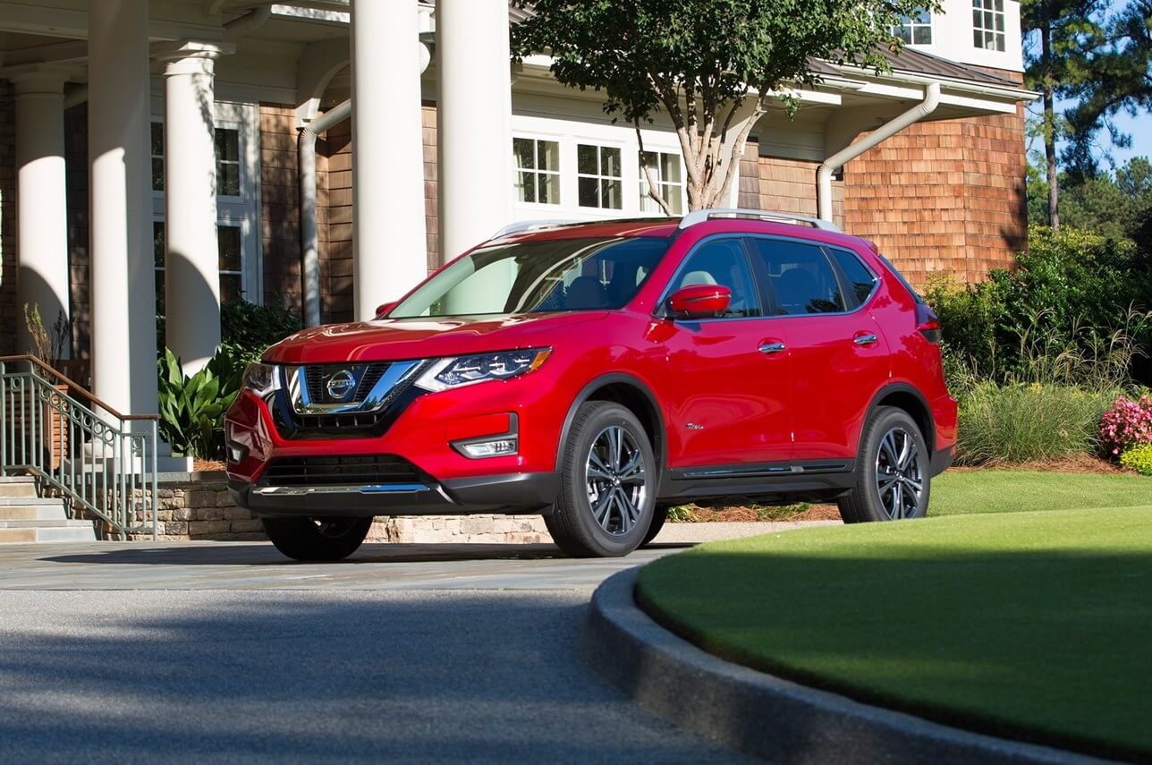 2020 Nissan Rogue SV standard features, trim levels, and available options