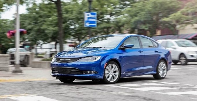 2021 Chrysler 200 is back with a new face