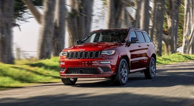 2021 Jeep Grand Cherokee Limited Redesign