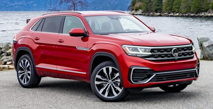 2022 VW Touareg Spy Photos