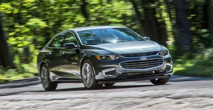 2022 Chevy Malibu LT Changes