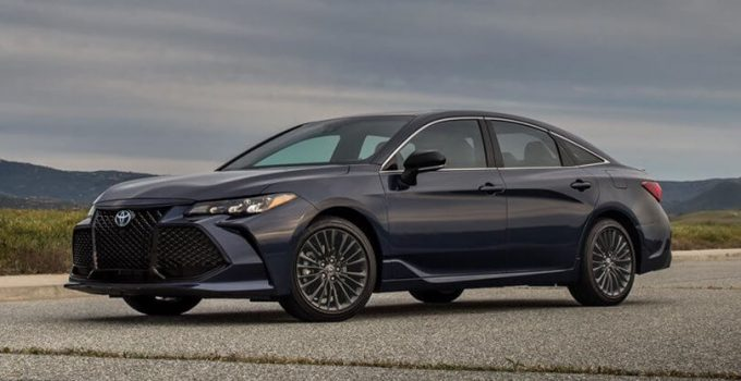 2022 Toyota Avalon Touring Redesign
